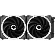 Water cooler GameMax Iceberg 240, Rainbow 240mm, Intel-AMD
