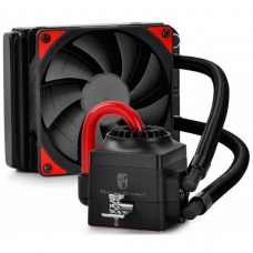 Water Cooler Gamer Storm DeepCool Captain 120EX, Red 120mm, Intel-AMD, DP-GS-H12L-CT120A4