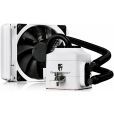 Water Cooler Gamerstorm DeepCool Captain 120EX, 120mm, Intel-AMD, White, DP-GS-H12L-CT120WA4