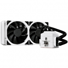 Water Cooler Gamer Storm DeepCool Captain 240EX, 240mm, Intel-AMD, White, DP-GS-H12L-CT240WA4