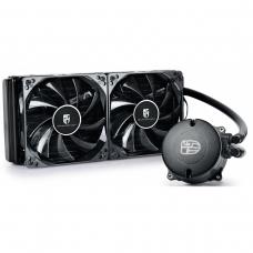 Water Cooler Gamer Storm DeepCool Maelstrom 240T, 240mm, Intel-AMD, DP-GS-H12RL-MS240TWFAM4