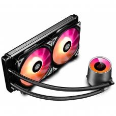 Water Cooler GamerStorm DeepCool Castle, RGB 280mm, Intel-AMD, DP-GS-H12L-CSL280RGB