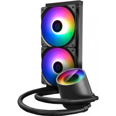 Water Cooler GamerStorm DeepCool Castle V2 RGB 240mm, Intel-AMD, DP-GS-H12AR-CSL240V2 - Open Box