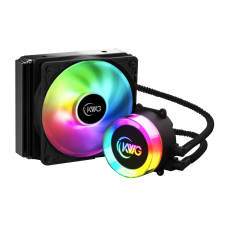 Water Cooler KWG Crater E1 120 Lite, 120mm, RGB, Intel-AMD, CRATER E1-120 LITE