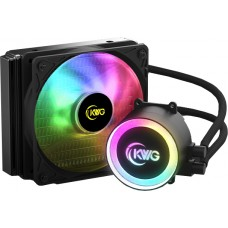 Water Cooler KWG Crater E1 120R, RGB 120mm, Intel-AMD - Open Box