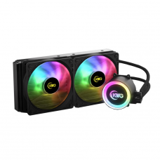 Water Cooler KWG Crater M1-240 Lite, RGB 240mm, Intel-AMD