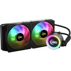 Water Cooler KWG Crater M1 240R, RGB 240mm, Intel-AMD