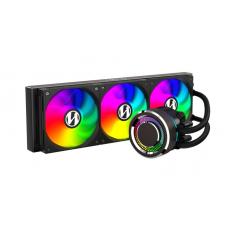 Water Cooler Lian Li, Galahad, RGB 360mm, Intel-AMD, Black, GA-360B BLACK