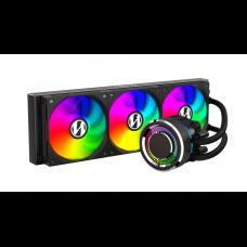 Water Cooler Lian Li, Galahad, RGB 360mm, Intel-AMD, Black, GA-360B BLACK