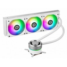 Water Cooler Lian Li, Galahad, RGB 360mm, Intel-AMD, White, GA-360A WHITE