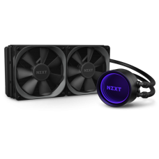 Water Cooler NZXT Kraken X53, RGB 240mm, INTEL/AMD, RL-KRX53-01 - Open Box