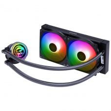 Water Cooler PCYES NIX 2 ARGB, 240mm, Intel-AMD, PCYWCNIX240