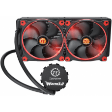 Water Cooler Thermaltake Water 3.0 Riing, Red 280mm, Intel-AMD, CL-W138-PL14RE-A