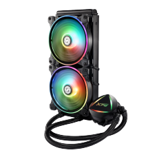 Water Cooler XPG, Levante, 240mm, RGB, Intel-AMD, 15260000