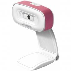 Webcam Avermedia PW310 USB 2.0 1080p Pink